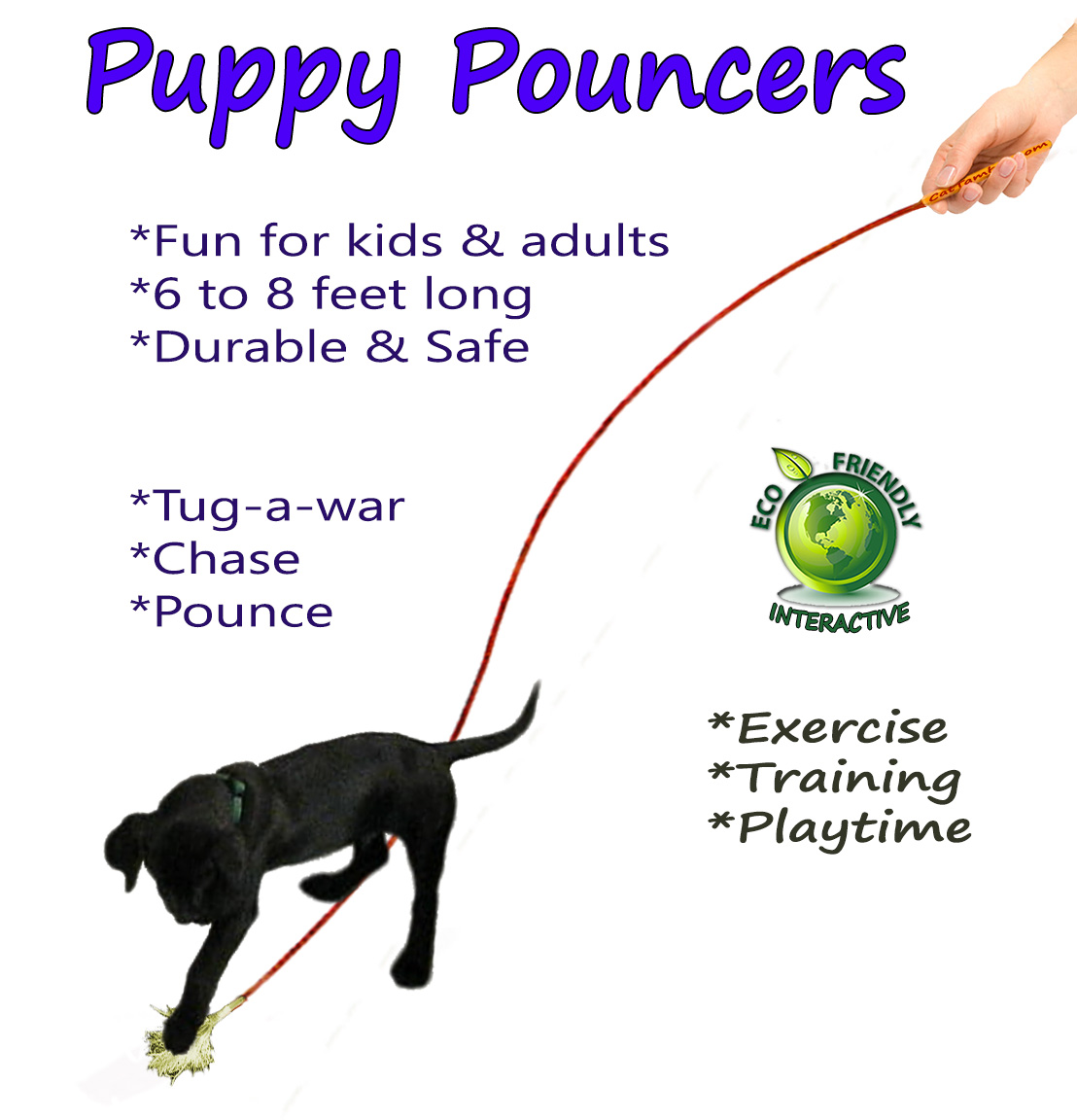 puppy pouncer dog toys